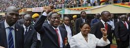 """Krokodilen"" Mnangagwa svors in som Zimbabwes nye president"