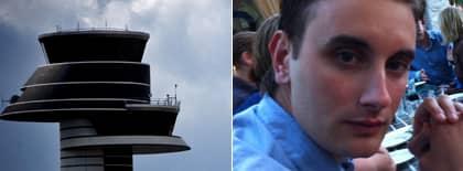 Tony Bacci var med om flygdramat på Arlanda. Foto: Privat