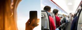 Flygvärdinnans briljanta svar på klagomålet