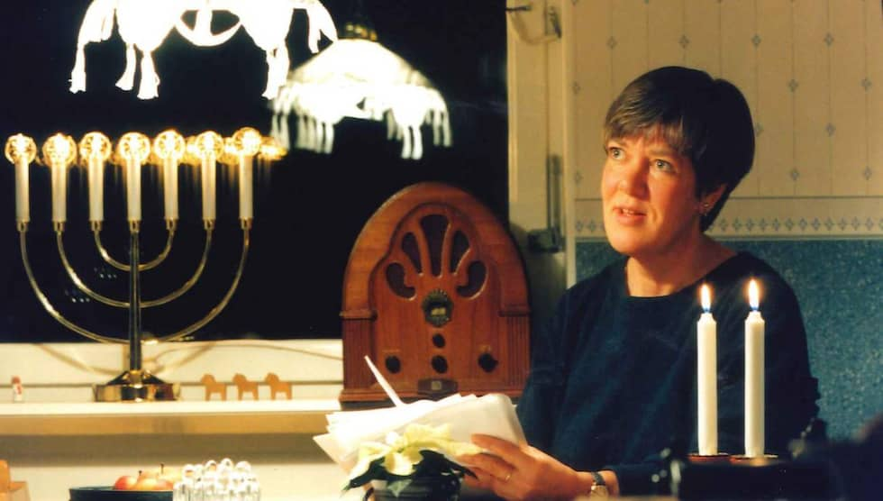 """Barbro Jöberger är den verkliga personen bakom signaturen """"Julia Caesar"""" Foto: Björn Lundberg"""