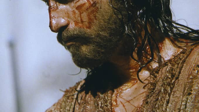 "Jim Caviezel som spelade Jesus i ""The passion of the Christ"", som Mel Gibson regisserade. Foto: PHILIPPE ANTONELLO / FILMBOLAG AP MARQUIS FILM"