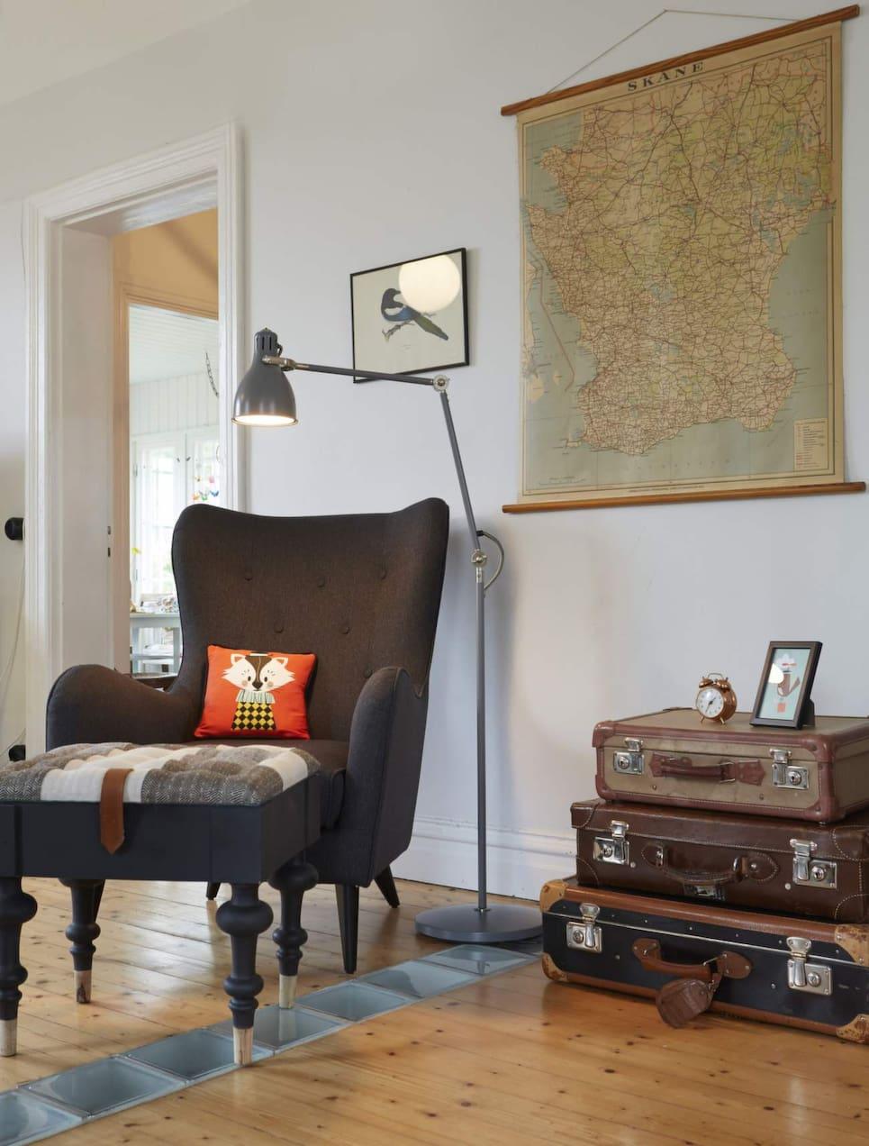 Tegelvilla från 20 talet inredd med loppisfynd Leva& bo Expressen