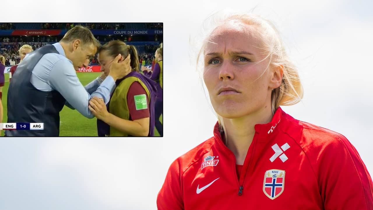 Sanningen bakom hennes tårar i VM