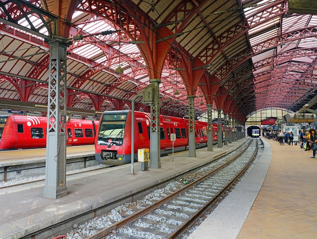 Köpenhamns centralstation, inkörsporten till kontinenten.