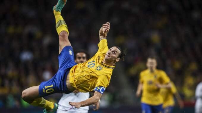Ni minns väl Zlatans oförglömliga mål? Foto: Nils Petter Nilsson