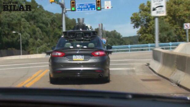 Uber testar självkörande bilar i Pittsburgh