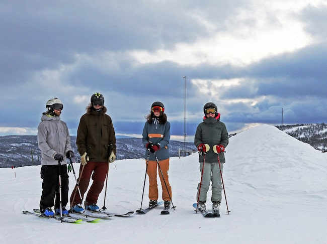 Från toppen av Ramundberget har du milsvid utsikt över Härjedalen.