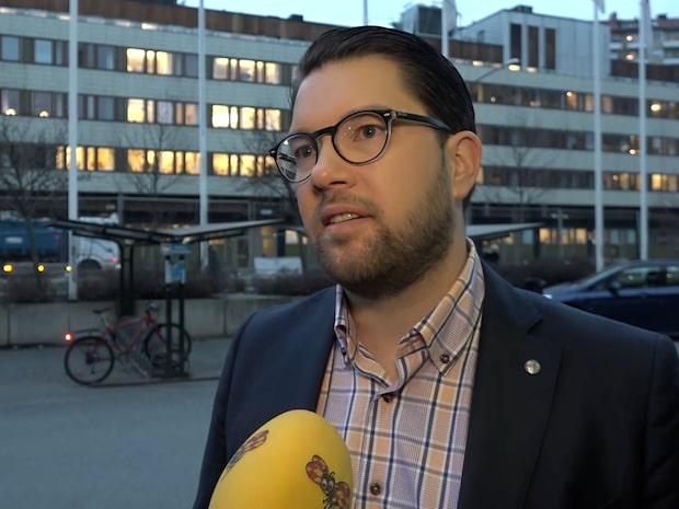 """Jimmie Åkesson: """"Måste kunna läsa signaler"""""""