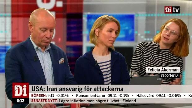 """Åkerman om oljan: """"Förvånad att det inte rör sig mer"""""""