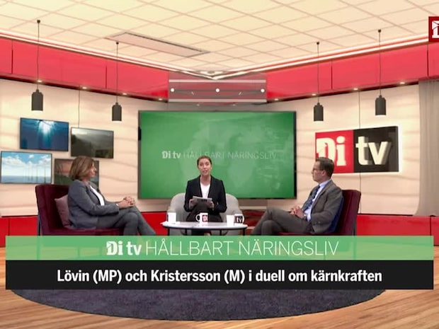 Se hela debatten mellan Isabella Lövin (MP) & Ulf Kristersson (M)