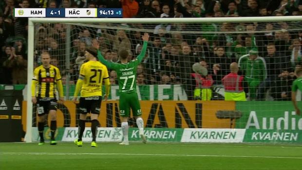 Höjdpunkter: Hammarbys seger räckte till en tredjeplacering och Europaspel