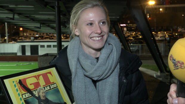 "Hon vinner prestigefyllda priset: ""Jättehedrande"""