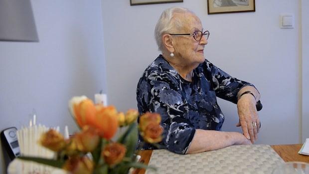 Margit, 91, blev bestulen av man från hemtjänsten
