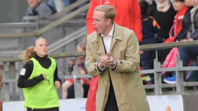 Jonas Eidevall. Foto: JOHAN NILSSON/TT / TT NYHETSBYRÅN