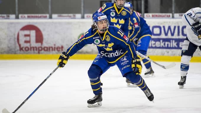 Matchvinnaren, Jacob Olofsson. Foto: Nils Jakobsson / BILDBYRŁN
