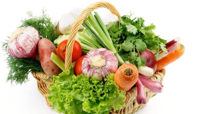 nyttiga grönsaker lista