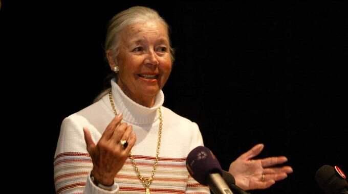 Hovsångerskan Alice Babs, 90, avled på ett demensboende på tisdagen. Foto: Suvad Mrkonjic