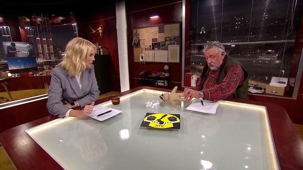 "Leif GW Persson om Black Axe: ""Håller på med voodoo"""