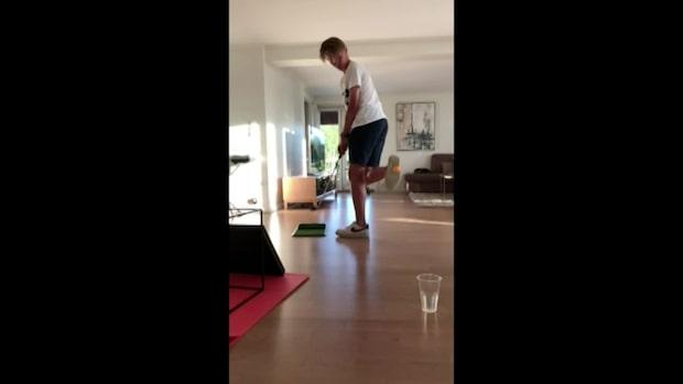 Kolla in de galna golftricksen – miljoner har sett unge golftalangens videos