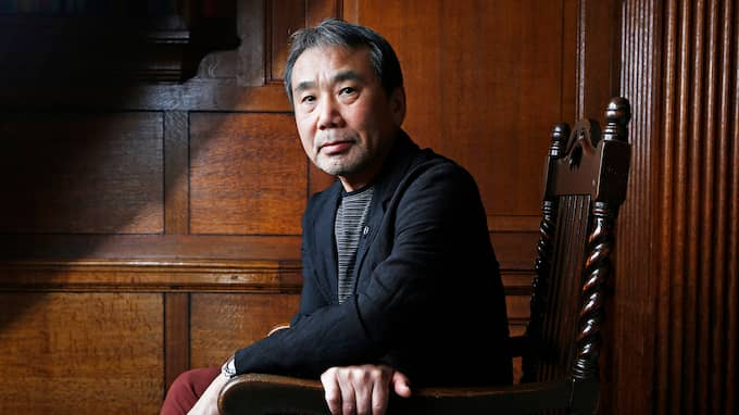 Haruki Murakami. Foto: MURDO MACLEOD / NORSTEDTS
