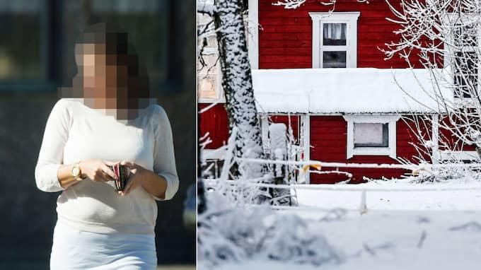 Den 42-åriga kvinnan misstänks för mord och mordförsök.