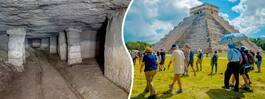 Gömda tunneln i templet kan visa underjordisk värld