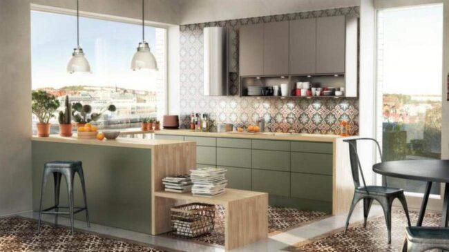 Kök Solid, Ballingslöv i marockansk inspiration. Det här köket kostar cirka 78 000 kronor exklusive vitvaror.