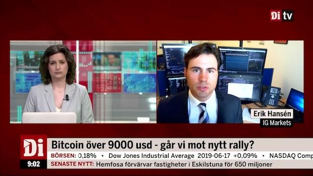 """Hansén om Bitcoin: """"Riskhanteringen är väldigt avgörande"""""""