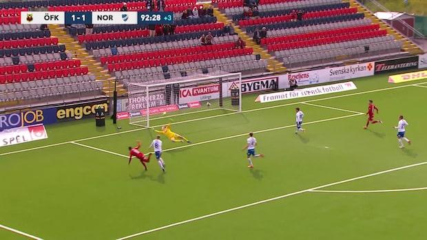 Se Östersunds 2-1-mål i slutminuterna