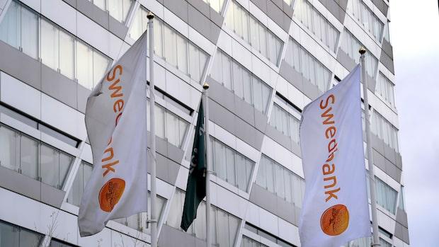Misstänkt omfattande penningtvätt i Swedbank