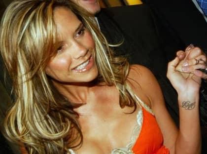 Victoria Beckham, frisyr à la 2004. Foto: Bruno Vincent