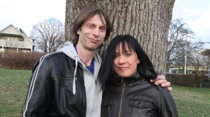 Gjort slut. Efter över ett års förhållande har det tagit slut mellan Ola-Conny och hans kärlek Carin. Foto: Niklas Henrikczon