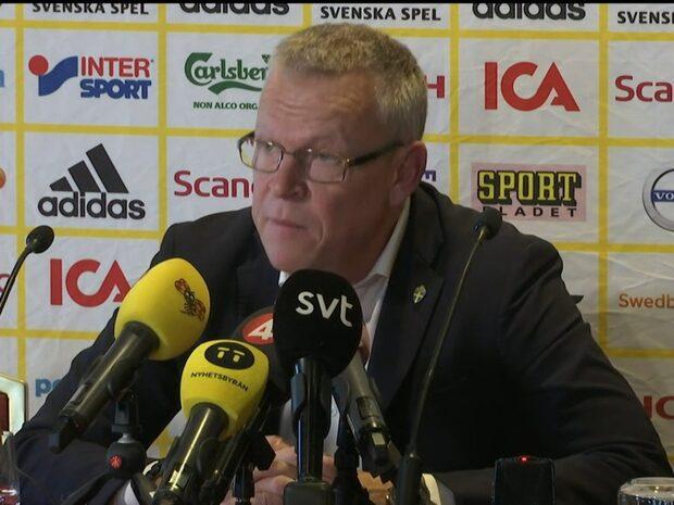 """Janne Andersson: """"Vi har för fan ett helt gäng"""""""