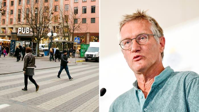 Anders Tegnell Inte Radd For Covid Farligare Att Ga Over Gatan