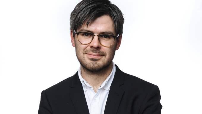 Joel Halldorf, teolog och medarbetare på Expressens kultursida. Foto: MIKAEL SJÖBERG