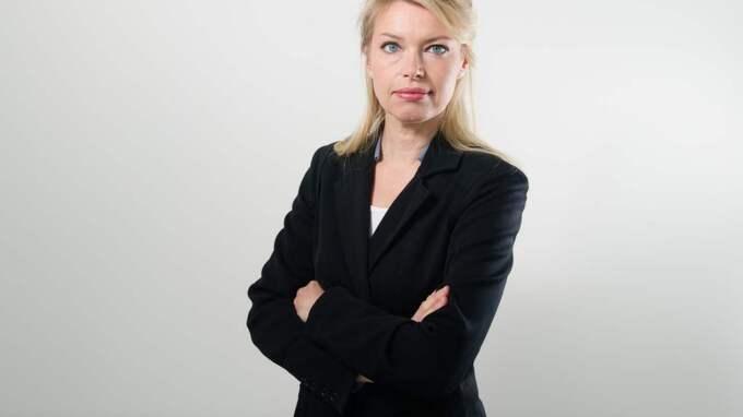 """""""Vi tror att framtiden ligger i rörlig bild och därför storsatsar vi på live- TV och rörlig bild i höst. Med den nya appen kommer det vara så mycket smidigare att följa nyhetsflödet direkt i mobilen"""", säger GT:s chefredaktör Sofia Dahlström. Foto: Anna Svanberg"""
