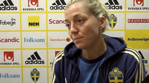 """Linda Sembrant om klubbsituationen: """"Har saker att ta ställning till"""""""