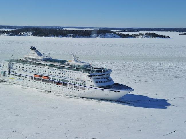 """Kryssningen """"SkiCruise"""" går mellan Stockholm och Sundsvall."""