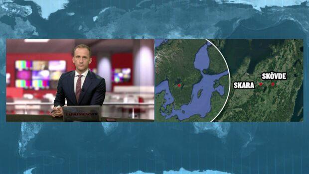 """Ovanligt jordskalv i Skövde i natt: """"Det skakade i byggnaden"""""""