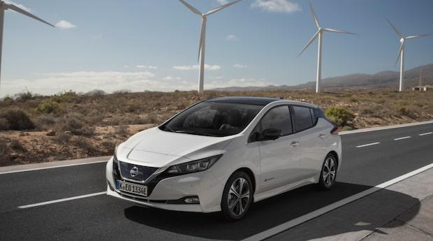 Vi testar nya elbilen Nissan Leaf