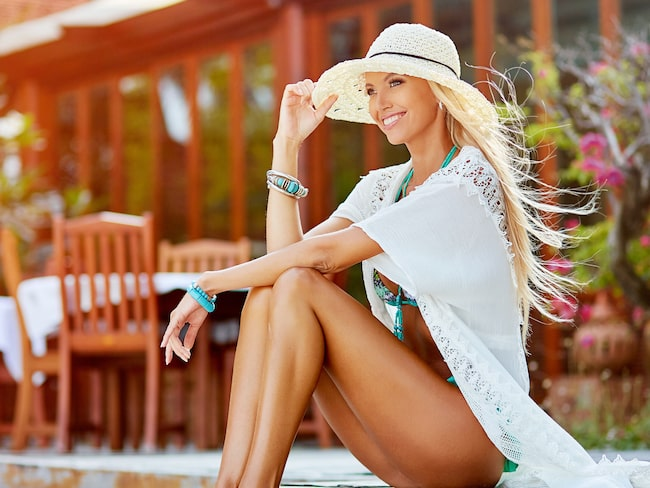 Fuska dig till en härlig sommarlook och slipp rynkor och bränd hy!