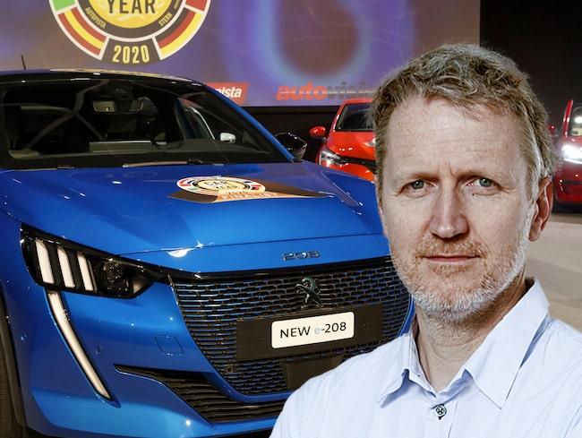 Peugeot 208 vann Årets Bil 2020