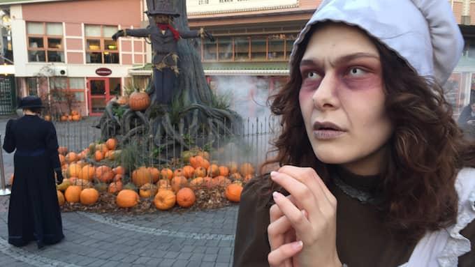 Det är tredje året som Liseberg håller öppet för en temasäsong på hösten. Foto: EVELINA NEDLUND