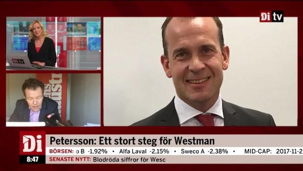 """Petersson: """"Ett stort steg för Westman"""""""