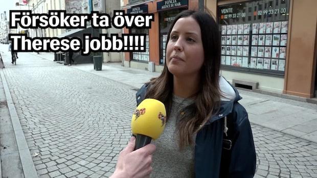VM-vloggen – Han försöker ta över Therese jobb!