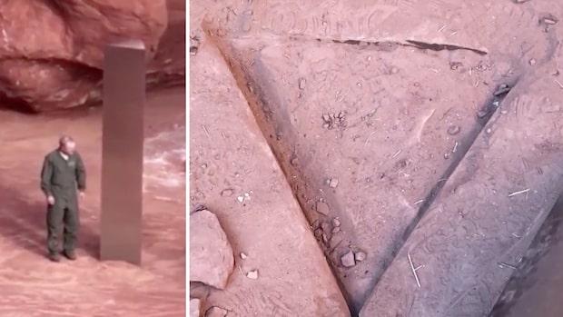 Det mystiska föremålet i öknen har försvunnit
