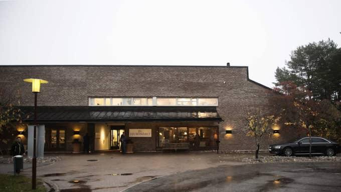 KONFERENS MED JULSHOW OCH ÖVERNATTNING. 193 anställda vid ett skattekontor i Stockholm bjöds på en konferens på Djurönäset. Foto: Anna-Karin Nilsson