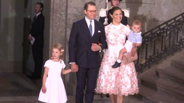 Kronprinsessan Victoria fyller 40 år - såhär såg det ut under dagen