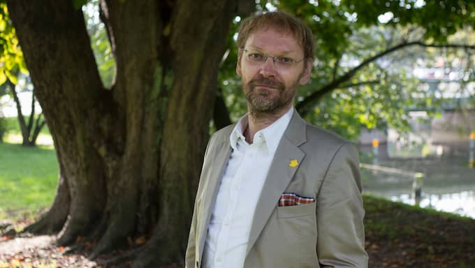 Mats Lövgren, samordnare vid nätverket Stoppa Västlänken Nu. Foto: JONAS TOBIN