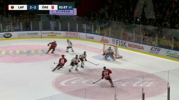 Höjdpunkter: Luleå-Örebro